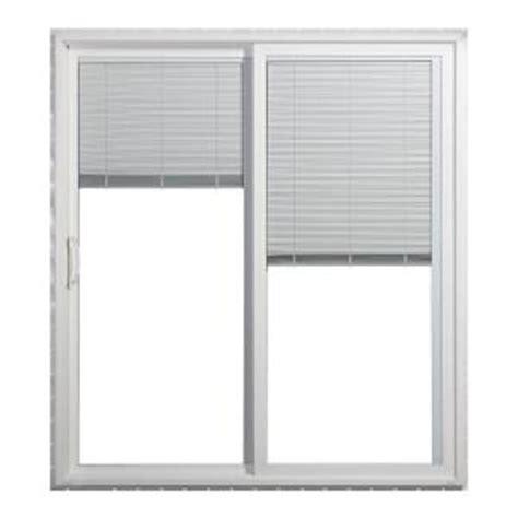 home depot sliding glass patio doors home depot jeld wen sliding vinyl patio door with blinds