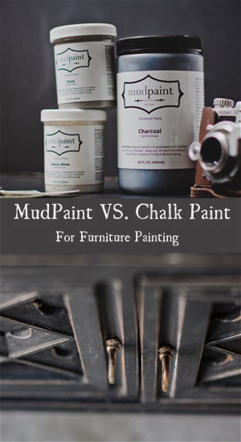 chalk paint questions were getting lots of questions about how mudpaint compares