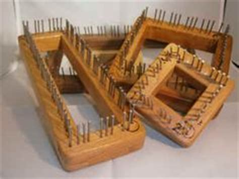 wooden knitting looms for sale looms for placemats and doilies made of wood with