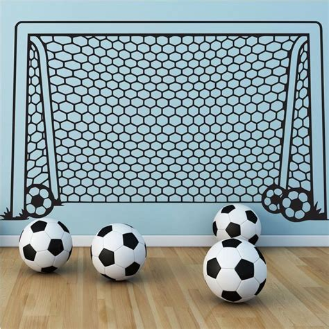 soccer wall stickers soccer football and soccer players wall stickers