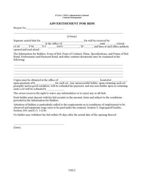 building contract form template