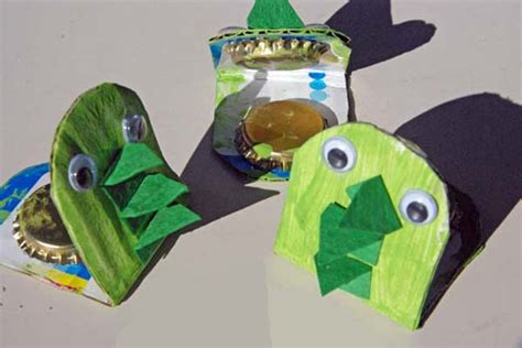 pbs crafts dinosaur castanets crafts for pbs parents