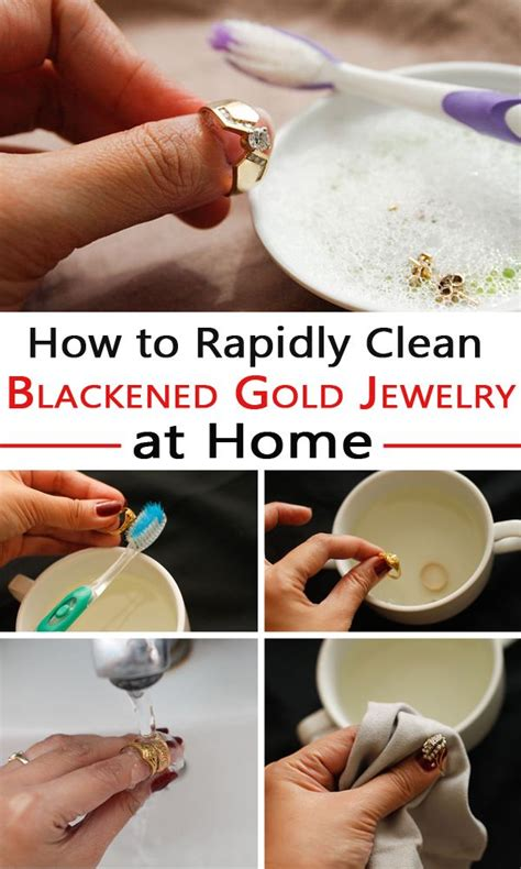 how to make jewelry cleaner for gold 25 unique clean gold jewelry ideas on how to