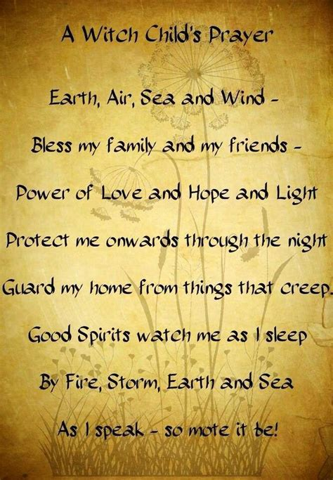 Bed Time Prayer Spells Prayers And Rituals