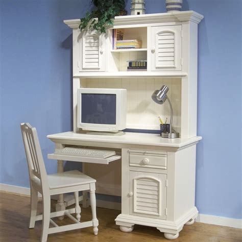 cottage white desk cottage traditions youth white desk and hutch dcg stores