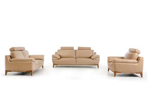 contemporary leather sofa sets contemporary taupe leather sofa set vg410 leather sofas