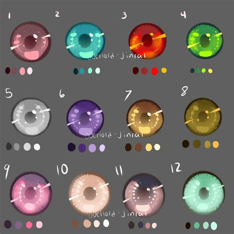 paint tool sai color swatches eye swatches by overlord jinral deviantart on