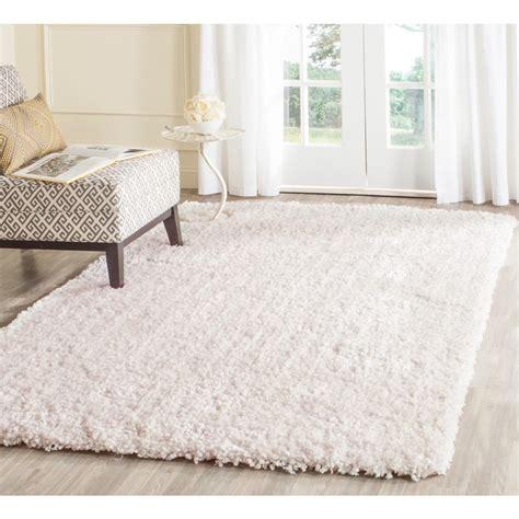5 ft area rugs safavieh popcorn shag ivory 6 ft x 9 ft area rug sg267a