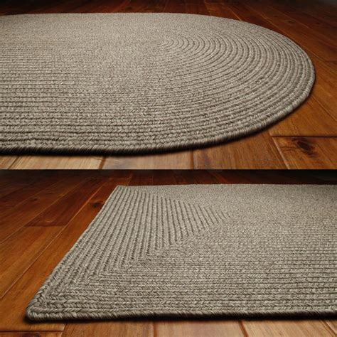 indoor outdoor braided rugs solid braided area rugs indoor outdoor oval rectangle