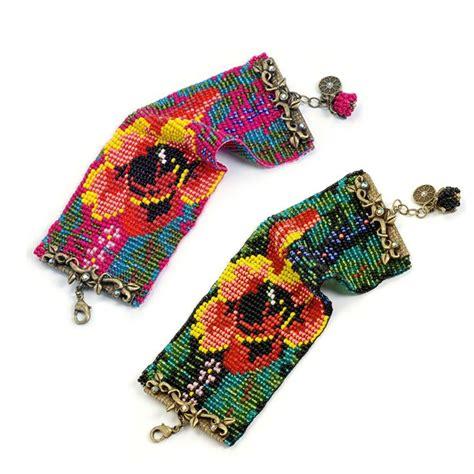 bead loom loom beaded bracelet