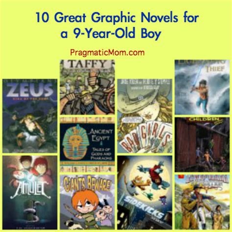 picture books for 9 year olds 10 great graphic novels for 3rd grade pragmaticmom