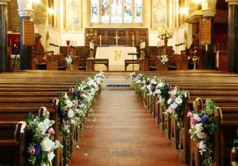 decoracion de iglesias para bodas arreglos florales para bodas elegantes y modernas