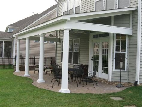 Covered Porch Design best 25 building a porch ideas on pinterest
