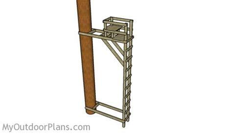 tree stand plans ladder tree stand plans deer blind plans