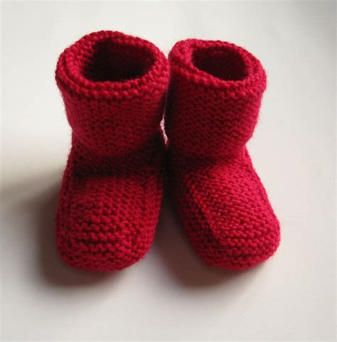 knit stay ravelry stay on baby booties archive pattern by