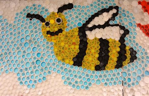 recycled crafts projects craft for recycle bottle cap creative and