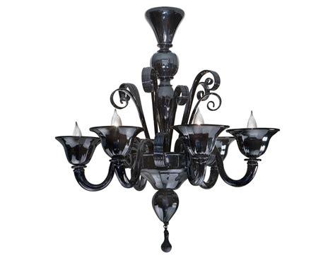 chandelier murano nella vetrina black murano 6 959 6 murano chandelier in black