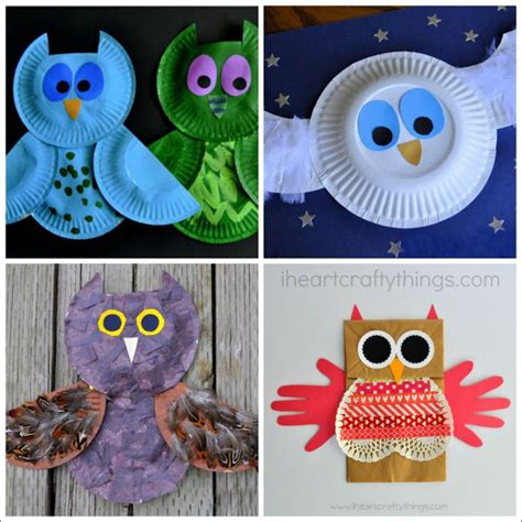crafts for children 8 owl crafts for i crafty things