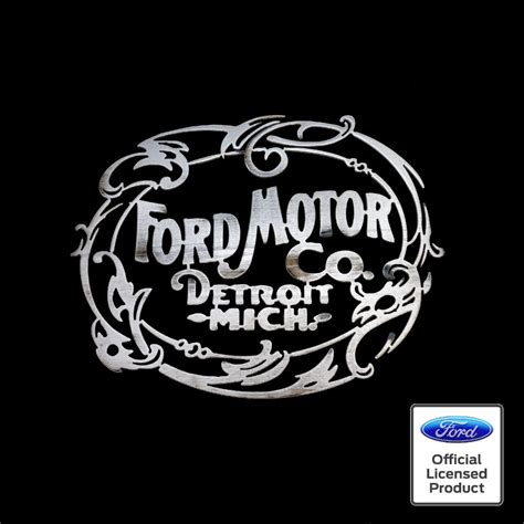 Ford Sign by Ford 1903 Sign Speedcult Officially Licensed