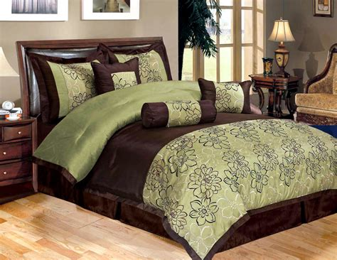 brown and green comforter sets pin duvet covers 3 on