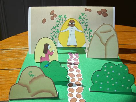 Centered Easter Crafts Activities