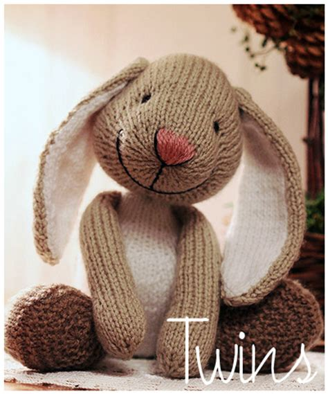 knitting patterns toys animals free knitted toys big foot knitted rabbit