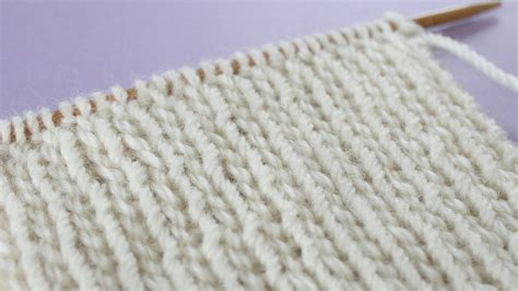 knit 1 purl 1 rib stitch knit stitch patterns for absolute beginning knitters
