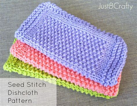easy knitting dishcloth patterns for beginners 5 knits for beginners just b crafty
