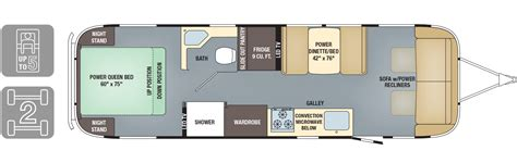 travel trailers floor plans airstream travel trailers floor plans gurus floor