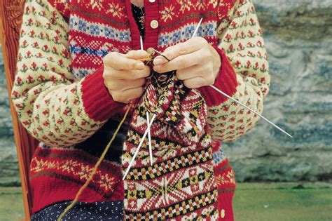 knitting tours scotland fair isle shetland visitor
