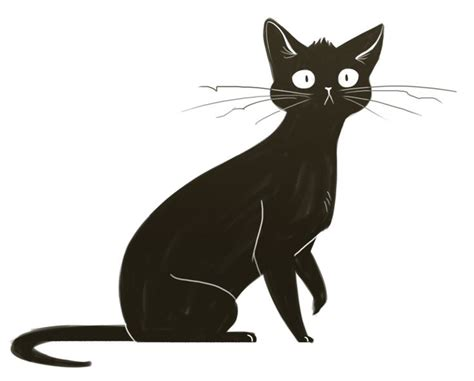 black cat painting step by step best 25 black cat drawing ideas on black cat