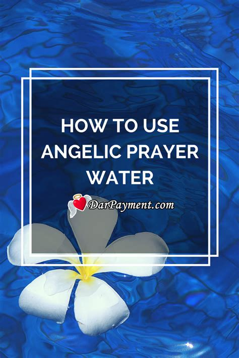 How To Use Angelic Prayer Water Dar Payment