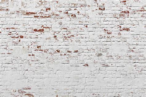 Custom Wall Mural white warehouse brick wall mural murals wallpaper