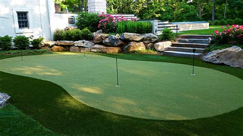 backyard putting green kit backyard putting green cost installing a putting green