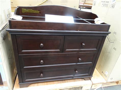 dresser for changing table espresso changing table dresser home furniture design