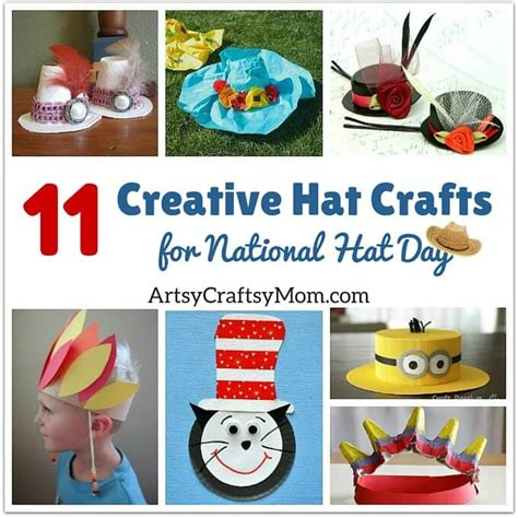 hat crafts for 11 creative hat crafts for national hat day artsy
