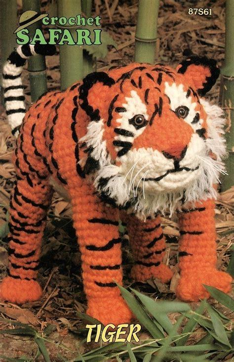 tiger knitting pattern free safari tiger crochet pattern animal annies attic