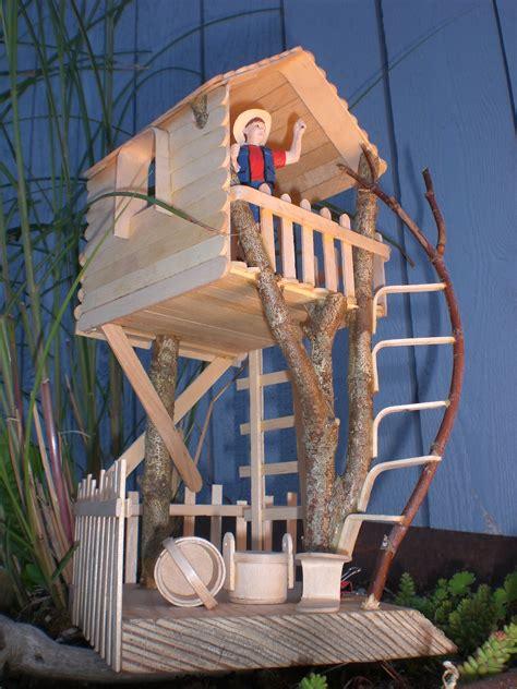 treehouse kid and craft craft stick branch tree house craft stick crafts