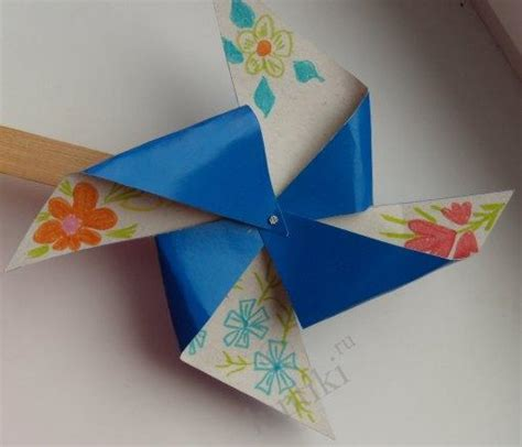 craft on paper crafts for children how to make a rotator from paper