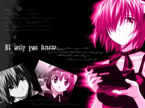 elfen lied elfen lied quotes of quotesgram