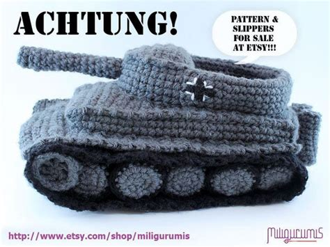 I Need Those On My Feet NOW: Panzer Tank Slippers   Geekologie