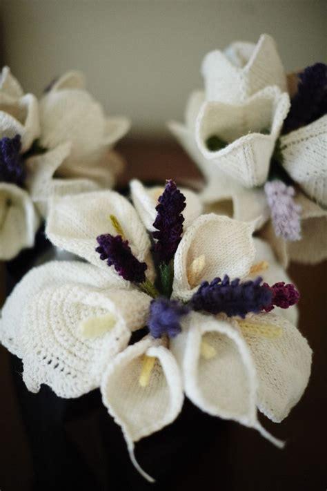 knitted bouquet pattern my knitted wedding kniterly haken
