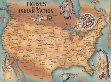 map of native american tribes 171 spydersden