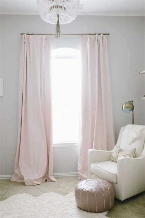 pink curtains nursery 17 best ideas about light pink bedrooms on