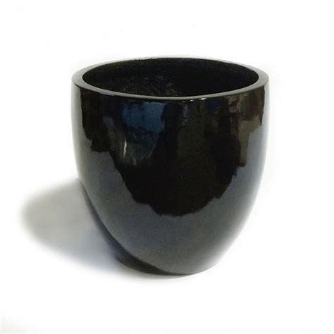 black planters black ceramic flower pots reversadermcream