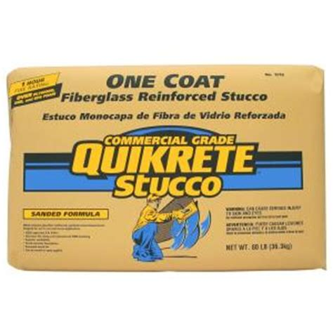 home depot paint one coat quikrete 80 lb 1 coat fiberglass reinforced stucco 120080