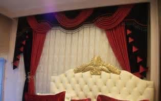 belles rideaux du salon marocain