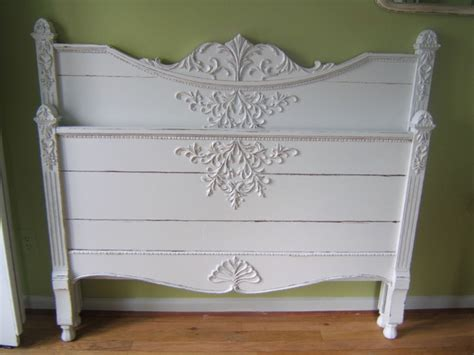 white shabby chic beds antique white shabby chic bed detroit by