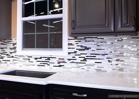 metal kitchen backsplash 5 modern white marble glass metal kitchen backsplash tile