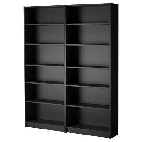 black bookshelves billy bookcase black brown 160x202x28 cm ikea